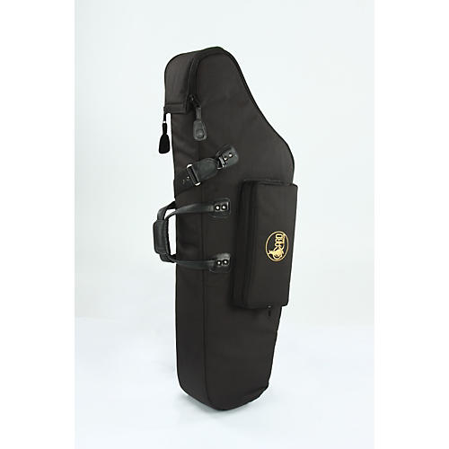 Gard Mid-Suspension EM Low A Baritone Saxophone Gig Bag 106-MLK Black Ultra Leather