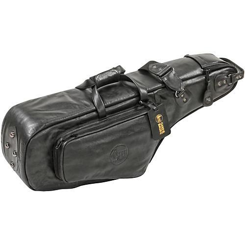 Gard Mid-Suspension EM Wide Neck Pocket Tenor Saxophone Gig Bag 112-MLK Black Ultra Leather
