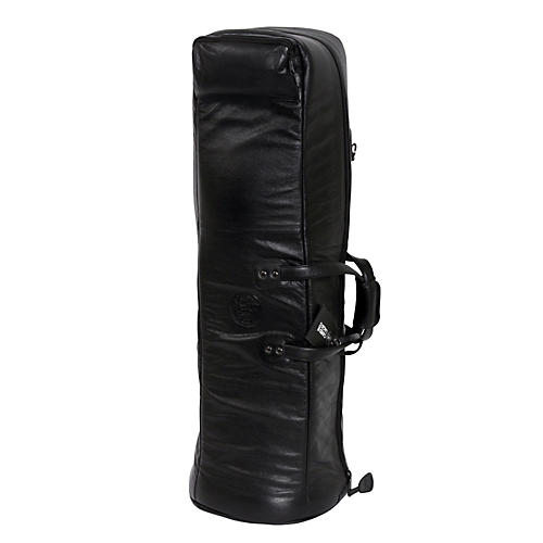 Gard Mid-Suspension G Series Bass Trombone Gig Bag 26-MSK Black Synthetic w/ Leather Trim