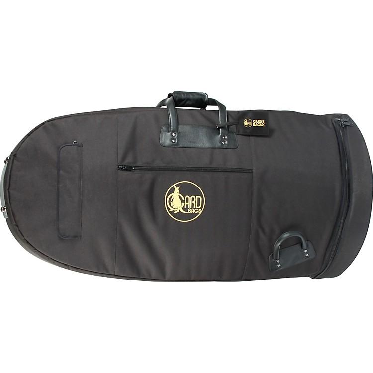 GardMid-Suspension Kaiser Tuba Gig Bag65-MLK BlackUltra Leather
