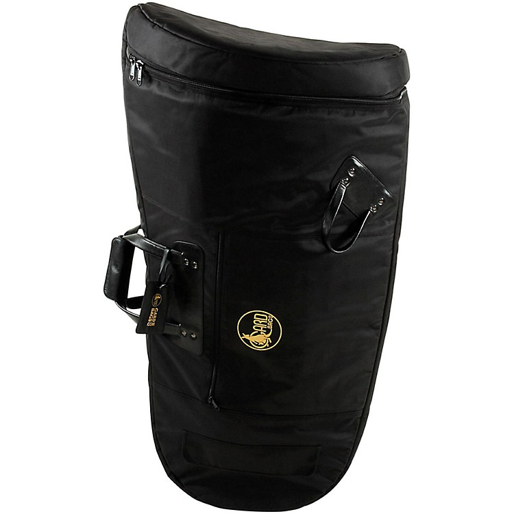 Gard Mid-Suspension Kaiser Tuba Gig Bag 65-MLK Black Ultra Leather