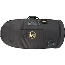 "Gard Mid-Suspension Large 19.5"" Bell Tuba Gig Bag 63-MSK Black Synthetic w/ Leather Trim"
