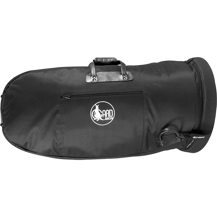 Gard Mid-Suspension Small Tuba Gig Bag 61-MLK Black Ultra Leather
