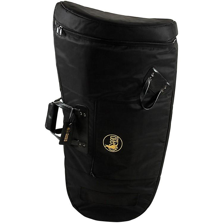 GardMid-Suspension Small Tuba Gig Bag61-MSK BlackSynthetic w/ Leather Trim