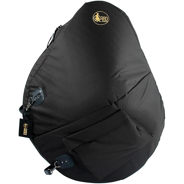 Gard Mid-Suspension Sousaphone Gig Bag 71-MSK Black Synthetic w/ Leather Trim