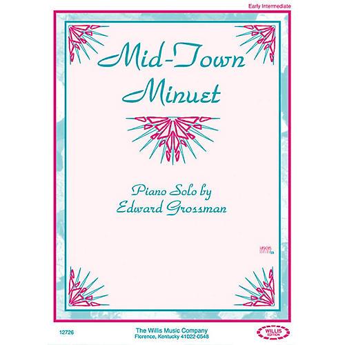 Willis Music Mid-Town Minuet (Early Inter Level) Willis Series by Edward Grossman-thumbnail