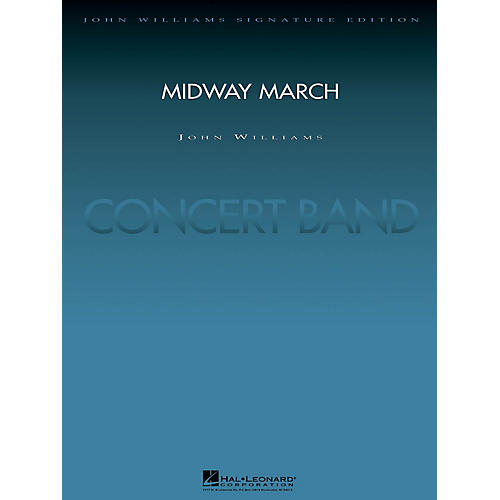 Hal Leonard Midway March (Score and Parts) Concert Band Level 5 Arranged by Paul Lavender