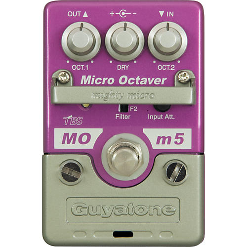 Guyatone Mighty Micro Series MOm5 Micro Octaver Octave Guitar Effects Pedal