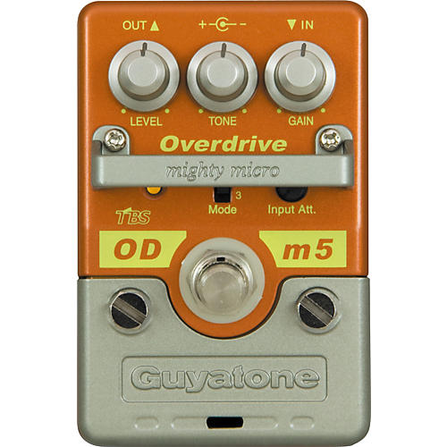 Guyatone Mighty Micro Series ODm5 Overdrive Guitar Effects Pedal