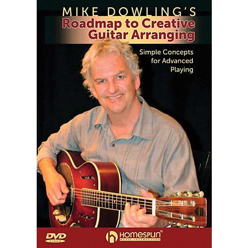 Homespun Mike Dowling's Roadmap To Creative Guitar Playing DVD