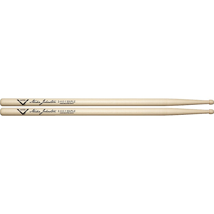Vater Mike Johnston 2451 Sugar Maple Drumsticks