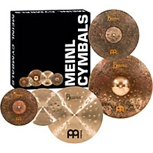 """Meinl Mike Johnston Byzance Cymbal Set with Free 18"""" Byzance Extra Dry Thin Crash"""