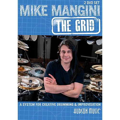 Hudson Music Mike Mangini: The Grid For Creative Drumming (2-DVD Set)-thumbnail
