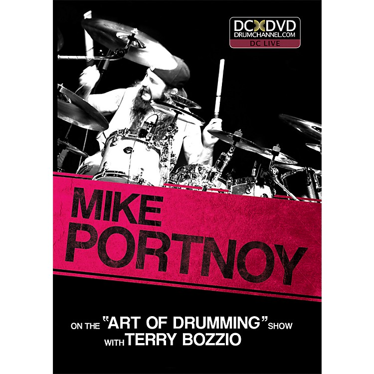 The Drum Channel Mike Portnoy - On the 'Art of Drumming' Show DVD with Terry Bozzio
