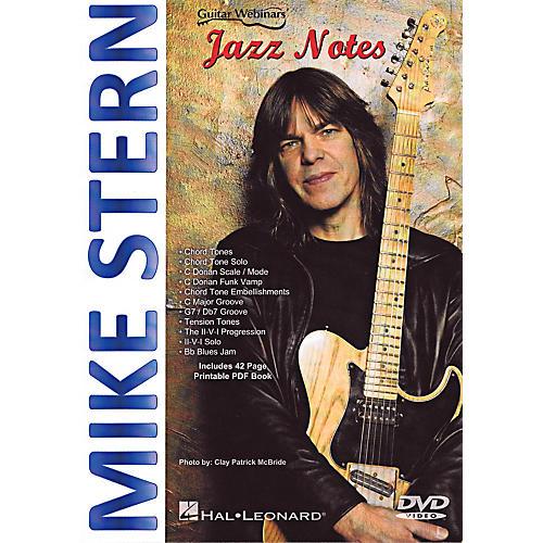 Hal Leonard Mike Stern - Jazz Notes DVD-thumbnail
