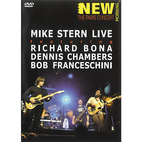 Hal Leonard Mike Stern Live - New Morning The Paris Concert (DVD)