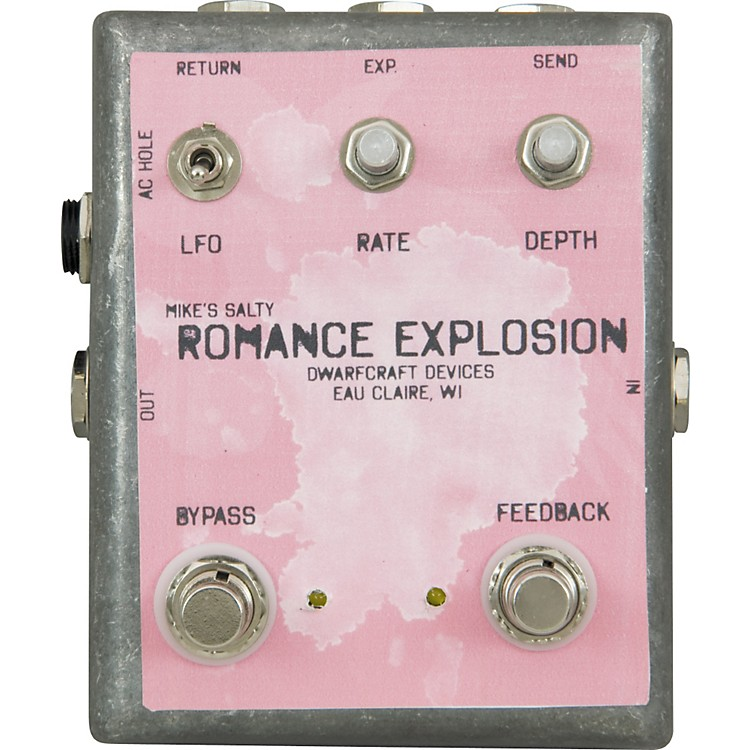Dwarfcraft Mike's Salty Romance Explosion Looper Guitar Effects Pedal