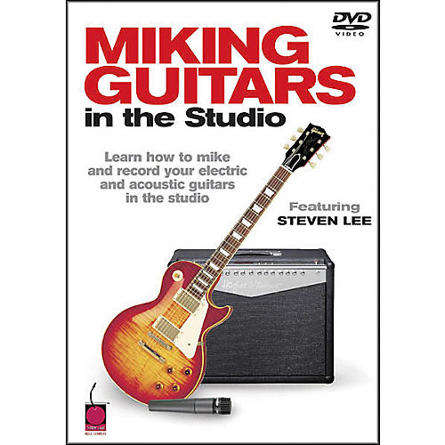 Cherry Lane Miking Guitars in the Studio (DVD)