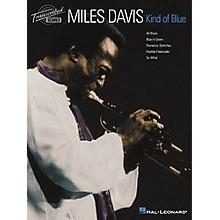 Hal Leonard Miles Davis - Kind of Blue Transcribed Score Book