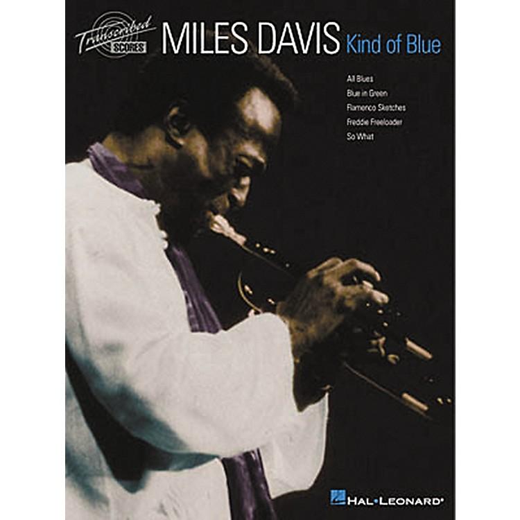 Hal LeonardMiles Davis - Kind of Blue Transcribed Score Book