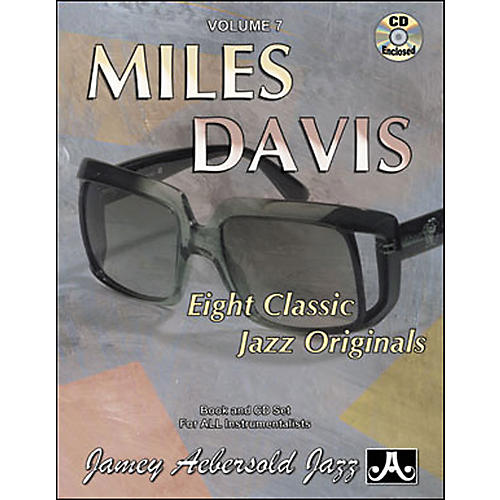 Jamey Aebersold Miles Davis Book and CD