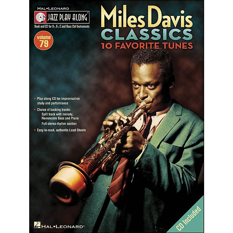 Hal LeonardMiles Davis Classics Jazz Play-Along Volume 79 Book/CD