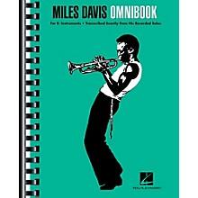Hal Leonard Miles Davis Omnibook For E-Flat Instruments