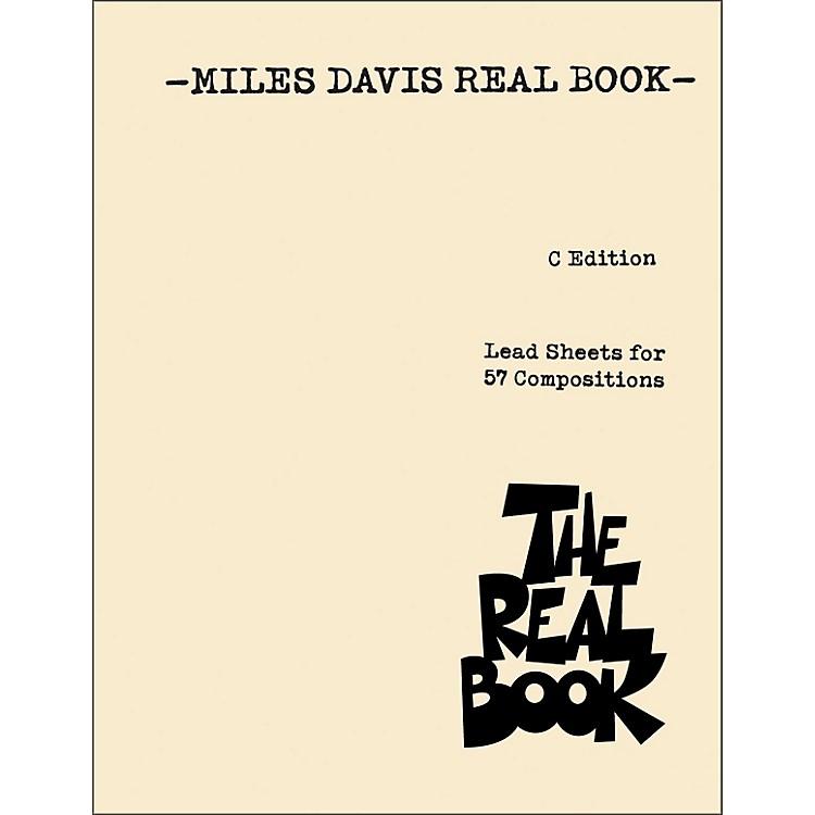 Hal LeonardMiles Davis Real Book