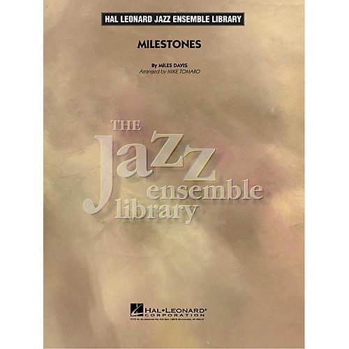 Hal Leonard Milestones Jazz Band Level 4 by Miles Davis Arranged by Mike Tomaro-thumbnail