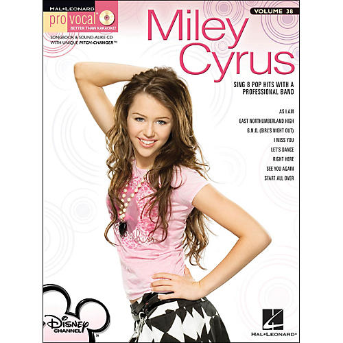 Hal Leonard Miley Cyrus - Pro Vocal Series for Female Singers Volume 38 Book/CD