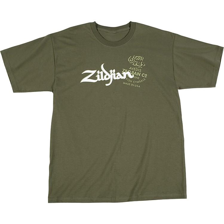 ZildjianMilitary Green T-ShirtLarge
