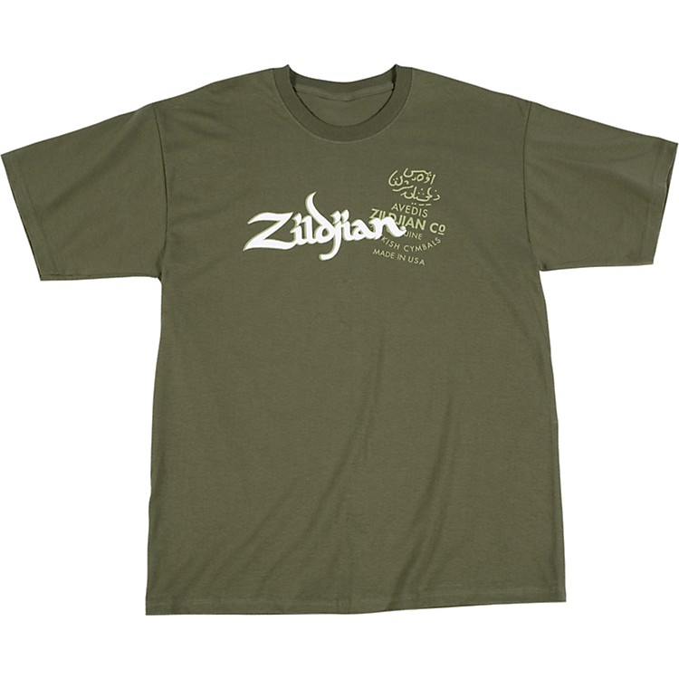 ZildjianMilitary Green T-ShirtMedium