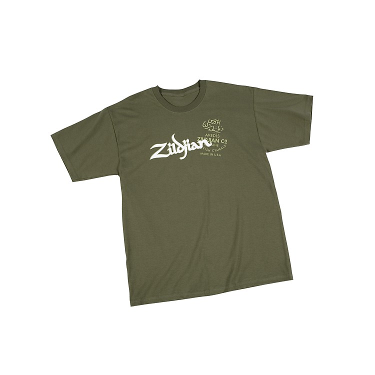ZildjianMilitary T-ShirtGreenXX Large