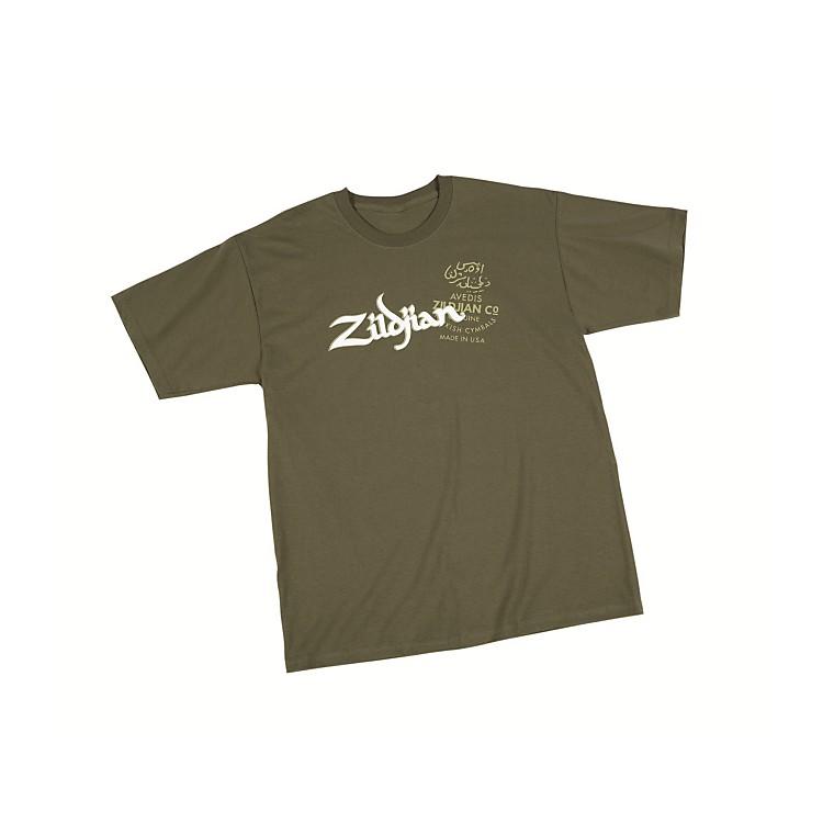 ZildjianMilitary T-ShirtGreenXXX Large