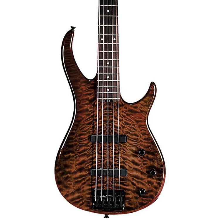 PeaveyMillennium BXP 5-String Bass Guitar Quilt TopTiger Eye