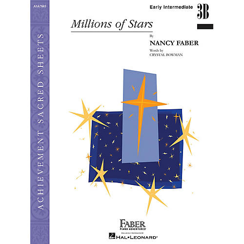 Faber Piano Adventures Millions of Stars (Early Inter/Level 3B Piano Solo) Faber Piano Adventures® Series by Nancy Faber-thumbnail