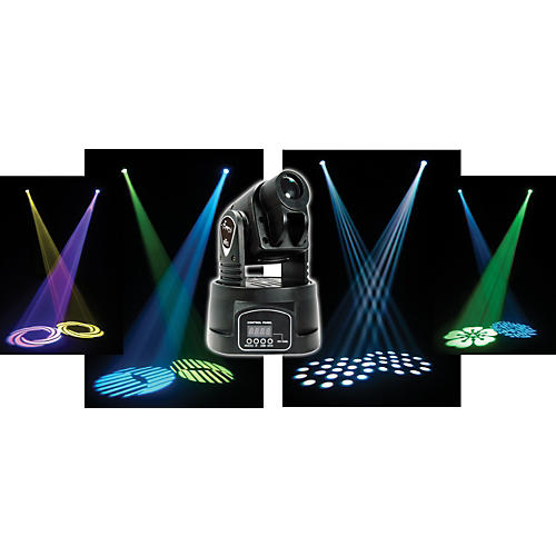 Chauvet Min Spot RGBW Quad Color LED Moving Yoke Fixture