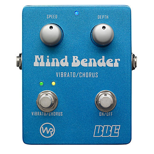 BBE Mind Bender Vibrato/Chorus Guitar Effects Pedal