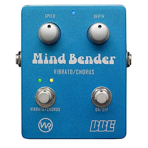 BBE Mind Bender Vibrato/Chorus Guitar Effects Pedal-thumbnail