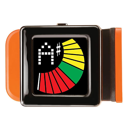 Snark Mini Guitar & Bass Clip-On Tuner Orange