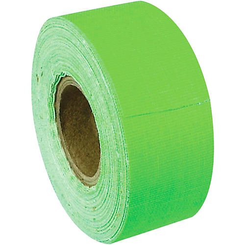 American Recorder Technologies Mini Roll Gaffers Tape 1 In x 8 Yards Florscent Colors Neon Green