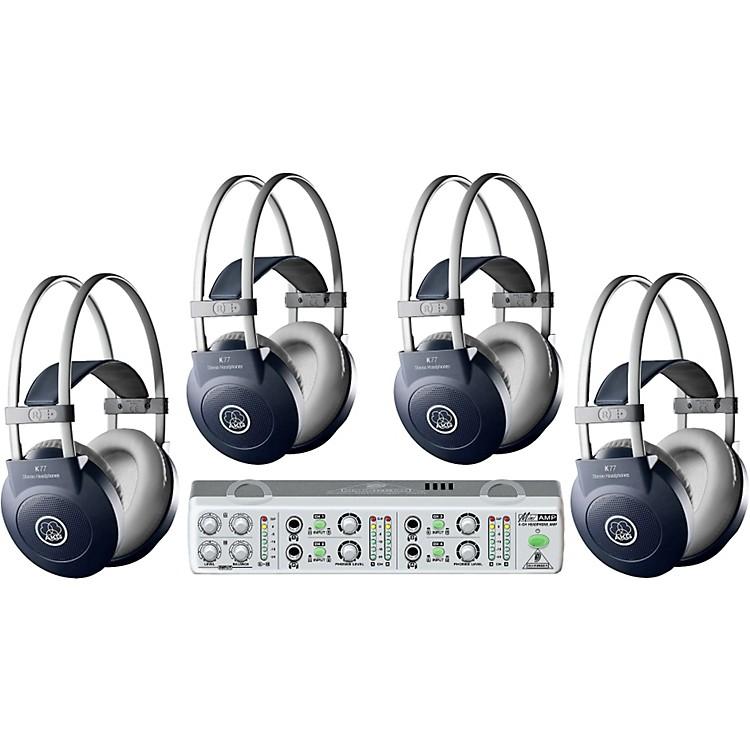 AKGMiniAMP/K77 Headphone Four Pack