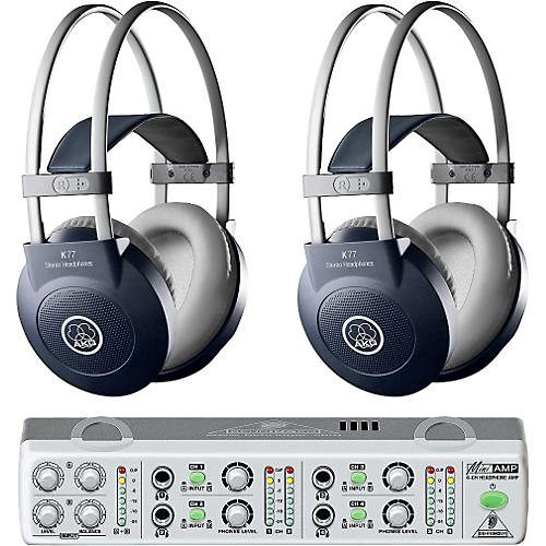 AKG MiniAMP/K77 Headphone Two Pack-thumbnail