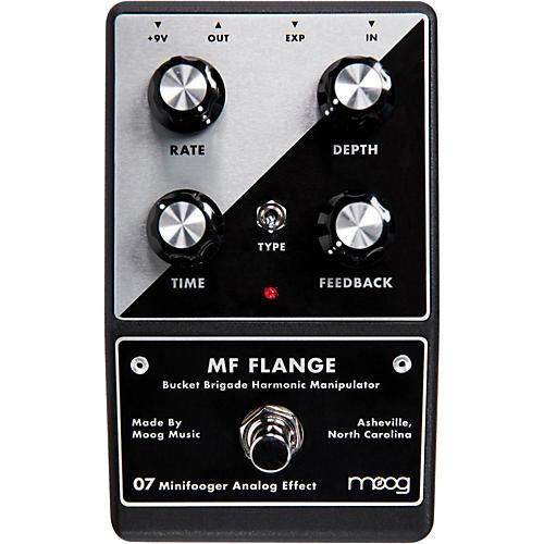 Moog Minifooger Flange Guitar Effects Pedal-thumbnail
