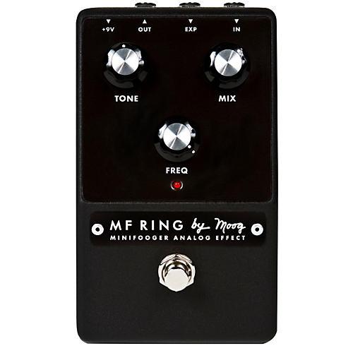Moog Minifooger Ring Guitar Modulator Ring Effects Pedal