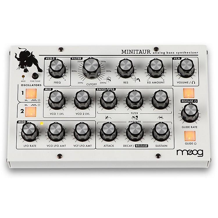 MoogMinitaur Bass Synthesizer with Custom White Finish