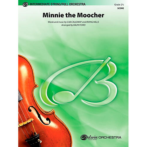 Alfred Minnie the Moocher Full Orchestra Grade 2.5 Set
