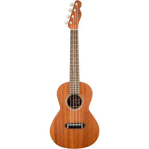 Fender Mino'Aka Concert Ukulele Mahogany Top Satin Body Finish