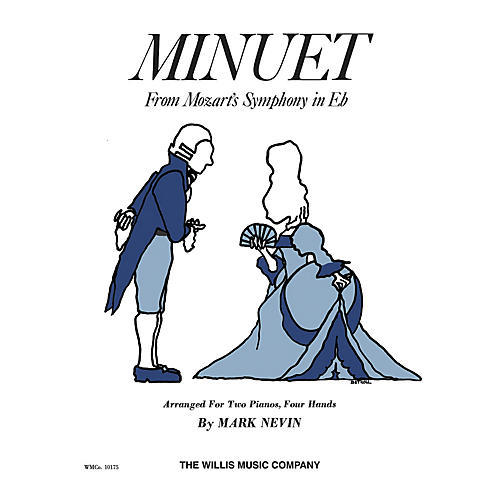 Willis Music Minuet from Symphony in E Flat (2 Pianos, 4 Hands/Later Elem Level) Willis Series by Mozart
