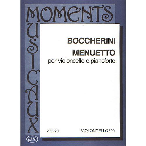Editio Musica Budapest Minuet-vcl/pno EMB Series by Luigi Boccherini-thumbnail